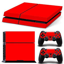 how to change the color of ps4 controller light friendlytomato ps4 console and dualshock 4 controller skin set red
