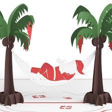 santa hammock 3d christmas pop up card lovepop
