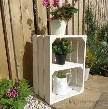 vintage apple fruit crates bushel boxes wooden garden planters