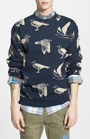 obey seagull print crewneck sweatshirt where to buy u0026 how to wear