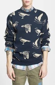 obey seagull print crewneck sweatshirt where to buy u0026 how to wear