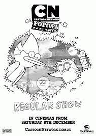 7 pics cartoon network regular show coloring pages regular