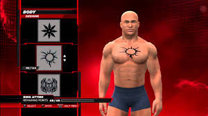 wwe2k14 how to make batista u0027s belly button chest tattoo youtube
