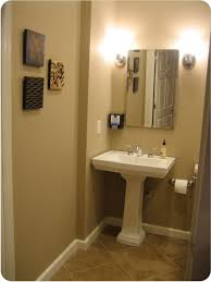 bathroom charming small bathroom decoration using rectangular oak
