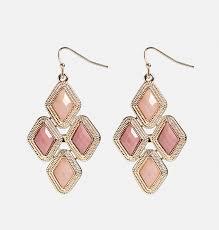 Pink Chandelier Earrings Mini Pink Chandelier Earrings Plus Size Earring Avenue
