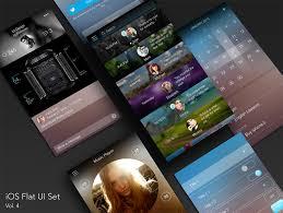 design application ios buy ios flat ui set vol 4 for ui graphic assets chupamobile com
