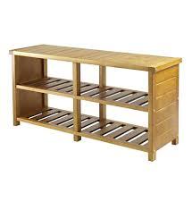 top rated storage bench with shelf two door walnut wood storage