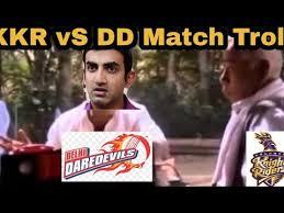 Memes Factory - kkr vs dd match troll memes factory tamil youtube