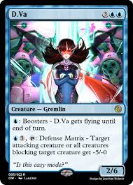 Mtg Card Design Overwatch Makes For Some Excellent Magic The Gathering Cards