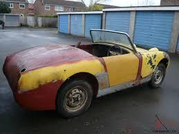 for restoration for sale healey frogeye sprite 1959 mk1 for restoration