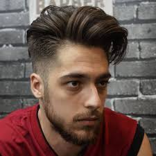 feathered brush back hair side swept hair 20 classic side swept hairstyle for men atoz