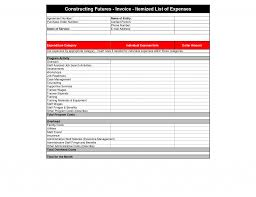 contract labor invoice template employee format free contractor