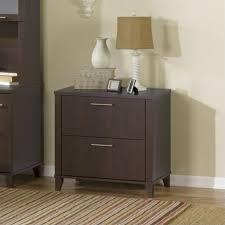 bush somerset lateral file cabinet bush somerset 2 drawer lateral file cabinet in mocha cherry wc81880