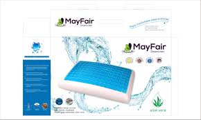 mayfair high quality grade coolgel memory form pillow furniture
