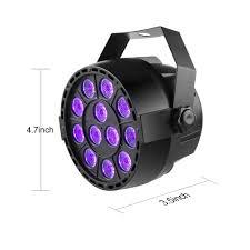 Led Light Bar For Home by Digoo Dg St1 12 Led Diy Voice Control Dj Purple Light Home Uv Led