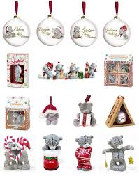 teddy decorations me to you christmas decoration selection 2015 figurines tatty
