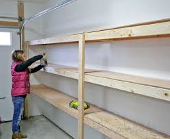 Heavy Duty Garage Shelving by Garage Wall Shelving Plans U2013 Bookpeddler Us