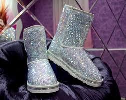 ugg glitter boots sale custom ugg boots etsy