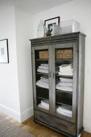 Best  Linen Cupboard Ideas On Pinterest Bathroom Closet Hall - Antique white bathroom linen cabinets