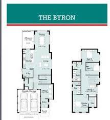 New Home Plan Narrow Block Short Block House Designs - Narrow block home designs