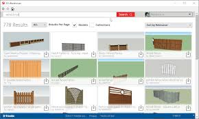searching for and downloading models sketchup knowledge base