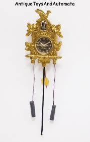 Ebay Cuckoo Clock 362 Best Miniature Clocks Images On Pinterest Dollhouses Clocks