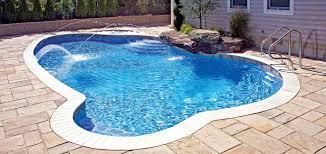 Mountain Lake Pool Design by Custom Swimming Pool U0026 Spa Builders