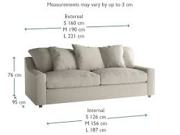 couch measurements cloud sofa comfy deep seated sofa loaf
