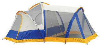 amazon com 15 foot x 14 foot two room seven person lodge tent