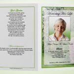 funeral booklets funeral booklet flair photo