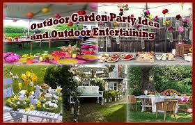 Outdoor Party Decoration Ideas Download Outdoor Party Ideas Michigan Home Design