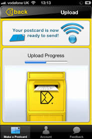 bypost postcard maker iphone app review send cards from your