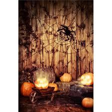 5x7ft halloween pumpkin spider background photography prop studio