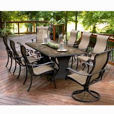 Hampton Bay Patio Dining Set - hampton bay belleville 7 piece patio dining set patios porches