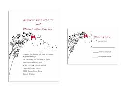 wedding invitation response card wedding invitation response card wedding invitation response