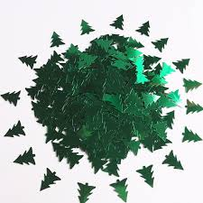 1700pcs snowflake sequin christmas tree confetti table scatters