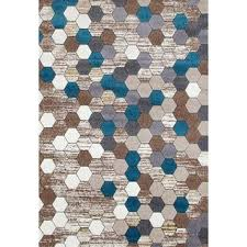 10x10 Area Rugs Rugs Colorful Honeycomb Area Rug 7 10 X 10 6 Beige 7