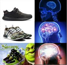 Meme Sneakers - sneakers expanding brain know your meme