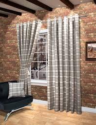 check vs plaid curtain curtain wool touch heavy lined tartan tweed plaid curtains