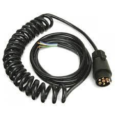 buy an ifor williams coiled lighting cable with a 7 pin plug p0738
