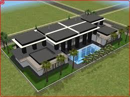 sims 4 house blueprints u2013 modern house