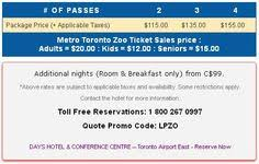for metro toronto zoo package details pricing and accommodations