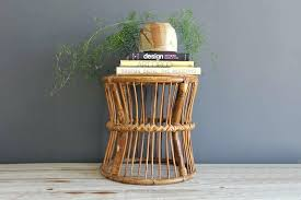 round rattan side table rattan side table dcacademy info
