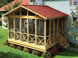 screened in porch plans white shed roof screened porch plans how to support a shed roof