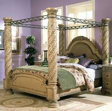 4 Poster Bed Frames 4 Poster Bed Frame Canopy Four Pertaining To Post Frames Designs