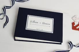 photo album guest book instant nautical guestbook wedding instax album sign in book