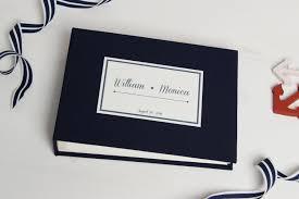 nautical photo album instant nautical guestbook wedding instax album sign in book