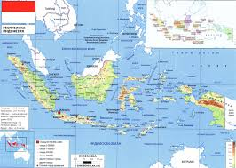 Indonesia World Map by Indonesia