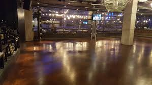 commercial hardwood flooring project at the rock casino