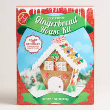 Cookie Decorating Kits Chalet Gingerbread House Kit World Market